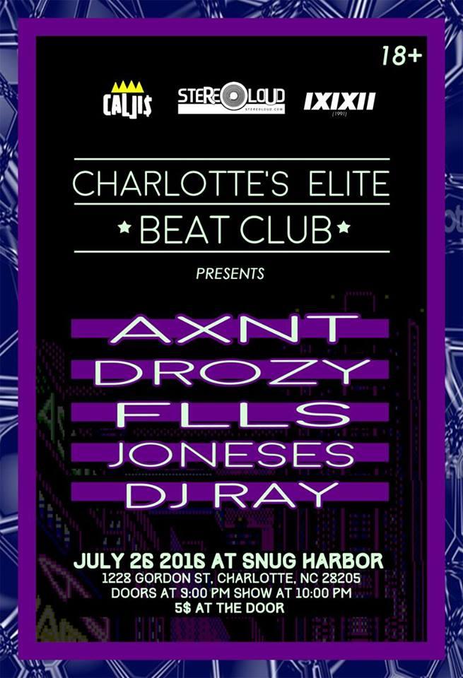 BEAT CLUB featuring Axnt, Drozy, Flls, Joneses, DJ Ray